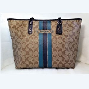 New! Coach Leather